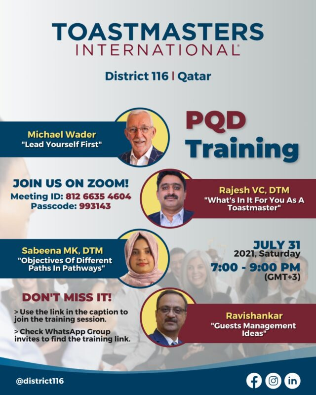PQD Training