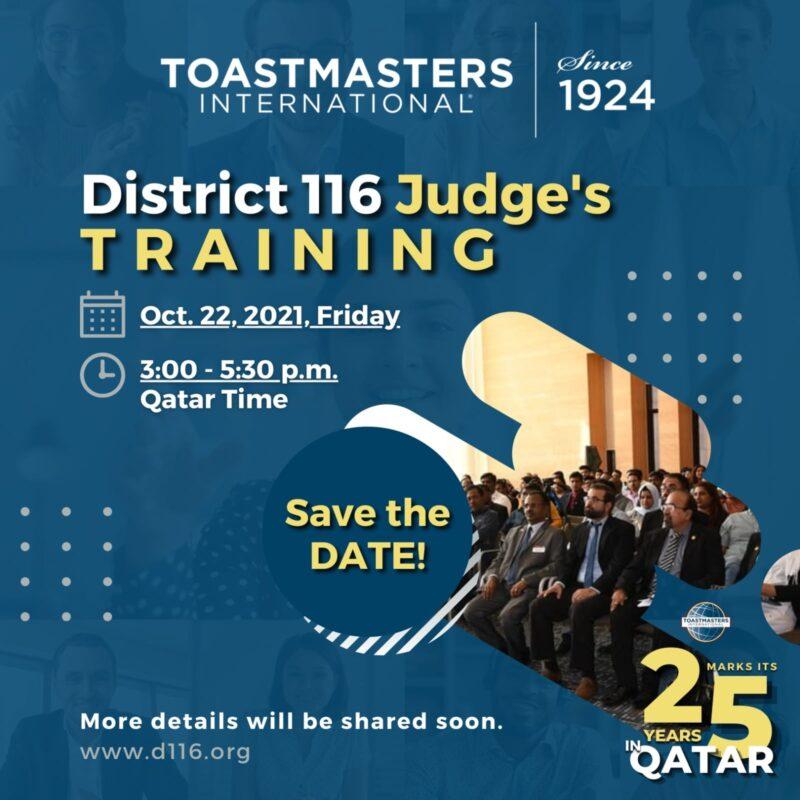 Judges Training
